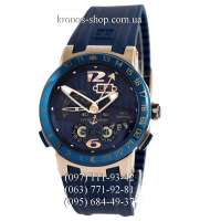 Ulysse Nardin Executive El Toro GMT Perpetual Blue/Gold/Blue