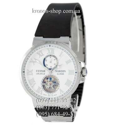 Ulysse Nardin Marine Chronometer Tourbillon Black/Silver/Black