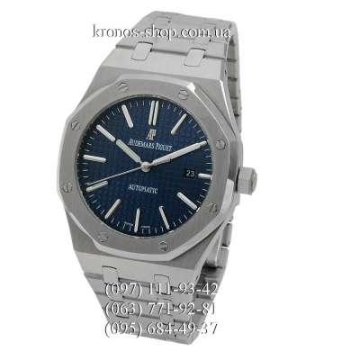 Audemars Piguet Royal Oak Selfwinding Silver/Blue