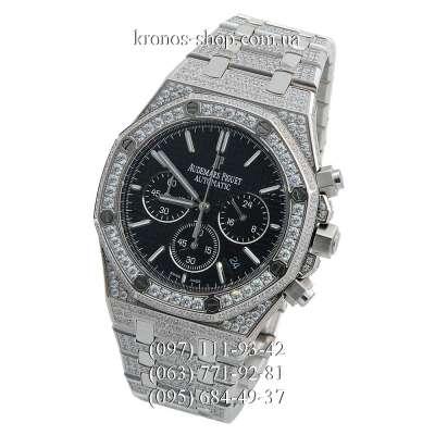 Audemars Piguet Royal Oak Offshore Chronograph All Diamonds Silver/Black