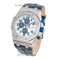 Audemars Piguet Royal Oak Offshore Chronograph Leather Blue/Silver/White