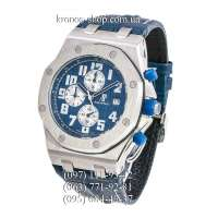 Audemars Piguet Royal Oak Offshore Chronograph Leather Blue/Silver/Blue
