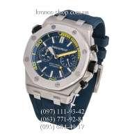 Audemars Piguet Royal Oak Offshore Diver Chronograph Blue-Yellow