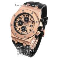 Audemars Piguet Royal Oak Offshore Chronograph Leather Black/Gold
