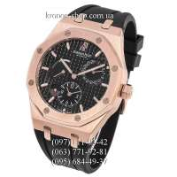 Audemars Piguet Royal Oak Dual Time Leather Black/Gold/Black