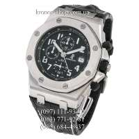 Audemars Piguet Royal Oak Offshore Chronograph Leather Black/Silver/Black