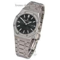Audemars Piguet Royal Oak Quartz Lady Diamonds Silver/Black