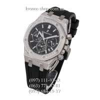Audemars Piguet Royal Oak Offshore Chronograph Diamonds Black/Silver/Black