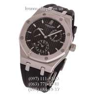 Audemars Piguet Royal Oak Dual Time Rubber Black/Silver/Black