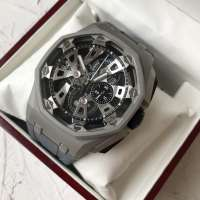 Audemars Piguet Royal Oak Offshore Tourbillon Chronograph 25th Anniversary Grey/Black-Grey