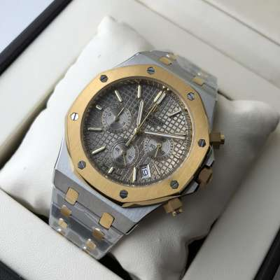 Audemars Piguet Royal Oak Chronograph Steel Yellow Gold/Grey