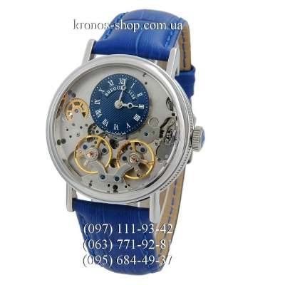 Breguet Tradition 3158 Blue/Silver/Blue