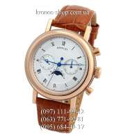 Breguet Classique Moon Phase Brown/Gold/White