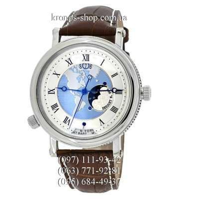 Breguet Classique 5717 Hora Mundi Brown/Silver/White