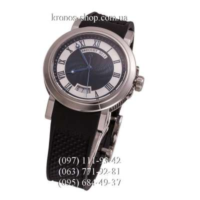 Breguet Marine 5012 Black/Silver/White-Blue