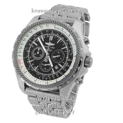 Breitling for Bentley Steel Silver/Black