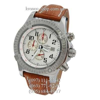 Breitling Chronomat Avenger Brown/Silver/White