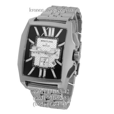 Breitling for Bentley Flying B Chronograph Steel Silver/Black