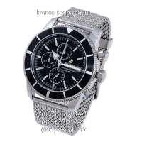 Breitling Superocean Heritage Chronographe Bracelet Silver/Black