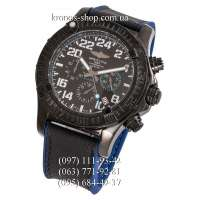 Breitling Chronomat Avenger Hurricane All Black-Blue