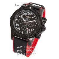 Breitling Chronomat Avenger Hurricane All Black-Red