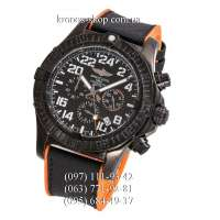 Breitling Chronomat Avenger Hurricane All Black-Orange