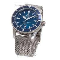 Breitling Superocean Heritage 46 Bracelet Silver/Blue