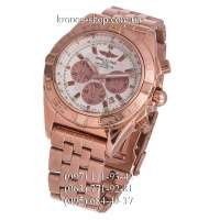 Breitling Chronomat Chronograph 44 Rose Gold/White-Rose Gold