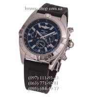 Breitling Chronomat Chronograph Rubber Black/Silver/Blue