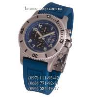 Breitling Superocean Chronograph Steelfish Rubber Blue/Silver/Blue