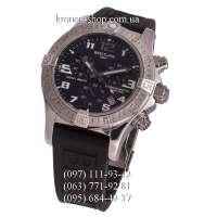 Breitling Chronomat Colt Chronograph Rubber Black/Silver/Black