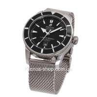 Breitling Superocean Heritage 46 Bracelet Silver/Black