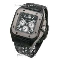 Cartier Santos de Cartier Santos 100 Chronograph All Black