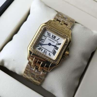 Cartier Panthere de Cartier Mini Diamond Yellow Gold/White