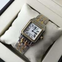 Cartier Panthere de Cartier Mini Diamond Silver/Gold/White