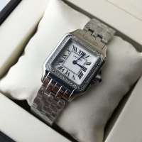 Cartier Panthere de Cartier Mini Diamond Silver/White