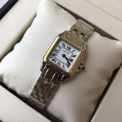 Cartier Panthere de Cartier Small Silver/Gold/White