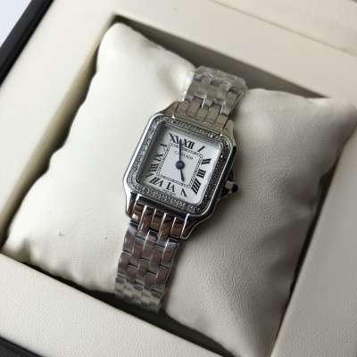 Cartier Panthere de Cartier Small Diamond Silver/White