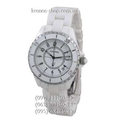 Chanel J12 Ceramic White