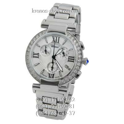Chopard Imperiale Chronograph Steel Silver