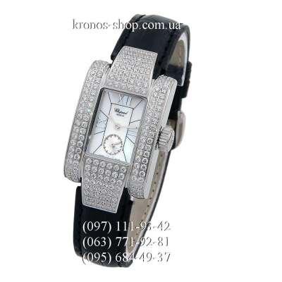 Chopard La Strada Small Seconds Crystals Black/White