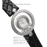 Chopard Happy Diamonds Icons Watch Black/Silver