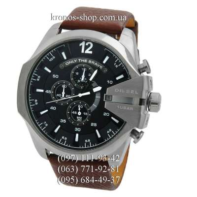 Diesel Mega Chief DZ4281 Brown/Silver/Black
