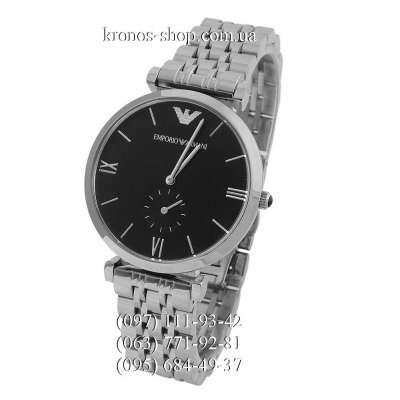 Emporio Armani AR1676 Silver/Black