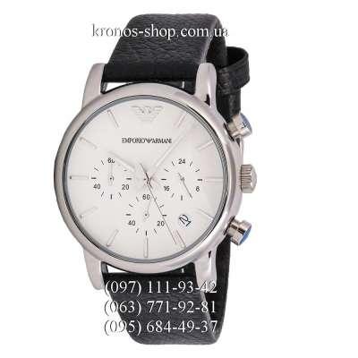 Emporio Armani AR1810 Chronograph Black/Silver/White