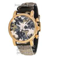Emporio Armani AR1818 Chronograph Military/Gold
