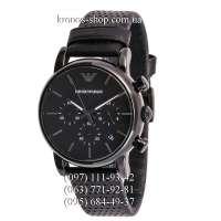 Emporio Armani AR1737 Chronograph All Black