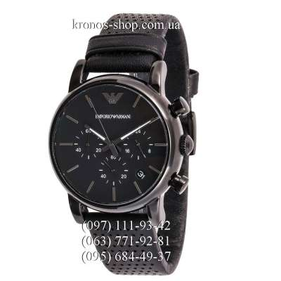 Emporio Armani AR1737 Chronograph All Black