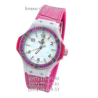 Hublot Big Bang Diamonds Pink-Red/White