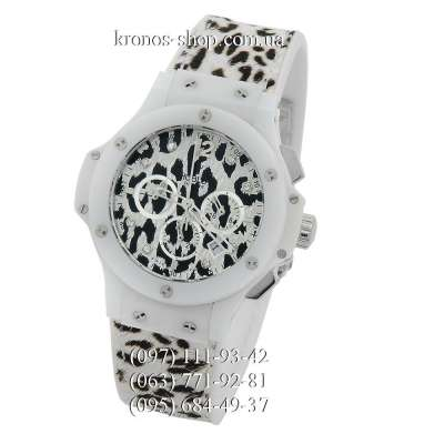 Hublot Big Bang Snow Leopard Chronograph